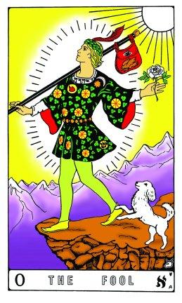 Tarot Keys 1-29-06 001 The Fool #0