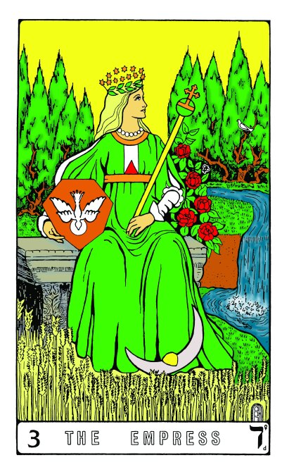Tarot Keys 1-29-06 016 The Empress #3