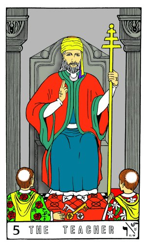Tarot Keys 1-29-06 018 The Teacher #5
