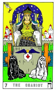 Tarot Keys 1-29-06 020 The Chariot #7