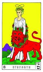 Tarot Keys 1-29-06 021 Strength #8