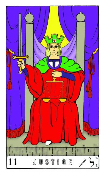Tarot Keys 1-29-06 004 Justice #11