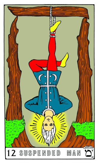 Tarot Keys 1-29-06 005 Suspended Man #12