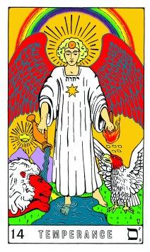Tarot Keys 1-29-06 007 Temperance #14