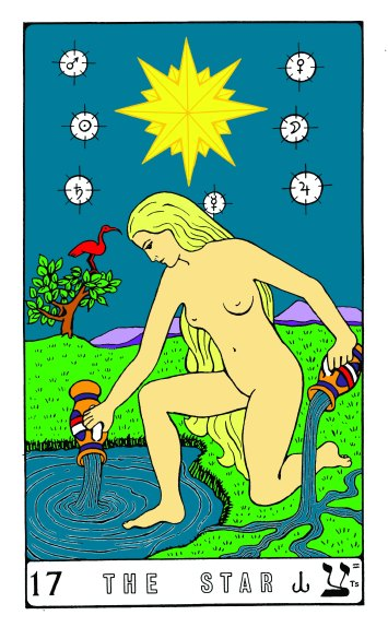 Tarot Keys 1-29-06 010 The Star #17