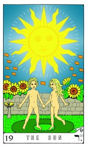 Tarot Keys 1-29-06 012 The Sun #19