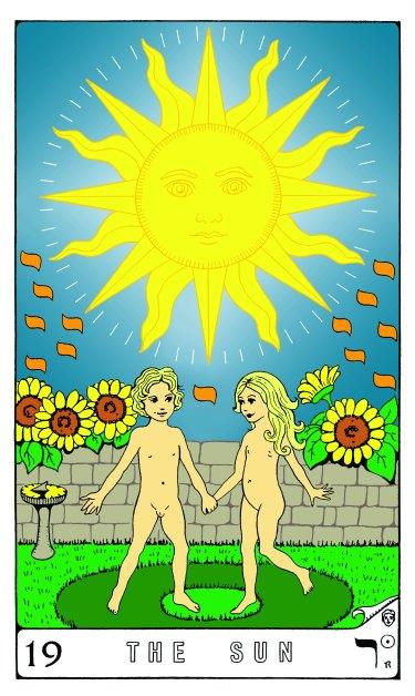 Tarot Keys 1-29-06 012 The Sun #19