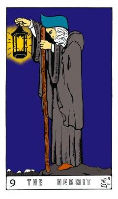 Tarot Keys 1-29-06 022 The Hermit #9