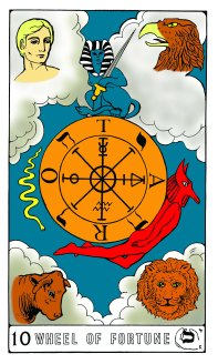 Tarot Keys 1-29-06 003 Wheel of Fortune #10