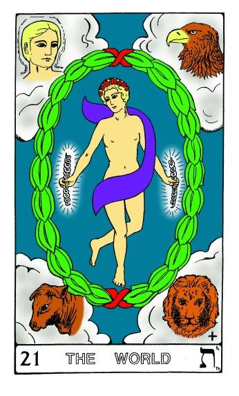 Tarot Keys 1-29-06 015 The World #21